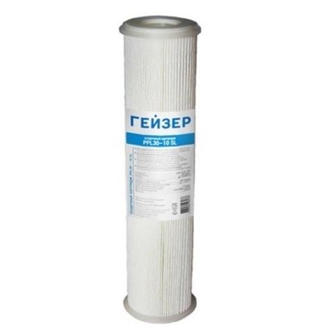лепестковый картридж для магистрального фильтра Гейзер PPL 30 10SL  28303