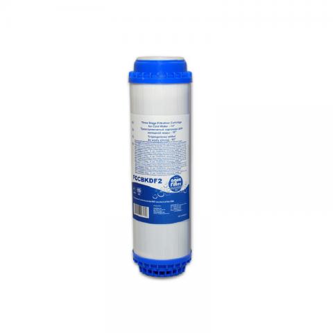 Картридж для проточного фильтра Aquafilter FCCBKDF2