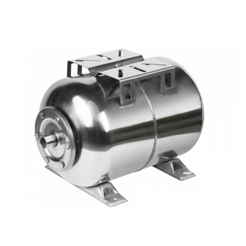 Гидроаккумулятор Unipump 50 л горизонтальный (нерж)