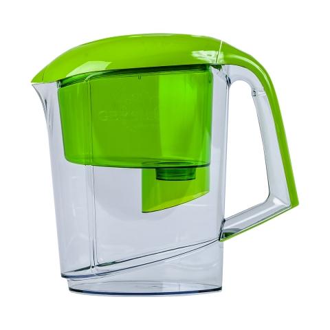 Фильтр-кувшин Гейзер Вега зеленый 62040 купить минск
