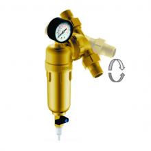 """Магистральный сетчатый фильтр Гейзер Бастион 322 3/4"""" с манометром и поворотным механизмом (d60) 7508095201"""