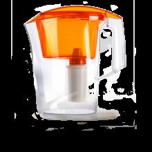 Фильтр-кувшин Гейзер Дельфин оранжевый 62035