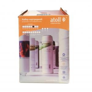 Комплект сменных элементов для системы обратного осмоса Atoll №206 для A-450 STD Compact купить минск