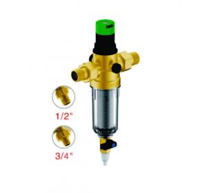 """Магистральный сетчатый фильтр Гейзер Бастион 511 1/2"""" с регулятором давления (d52.5) 7508155233"""