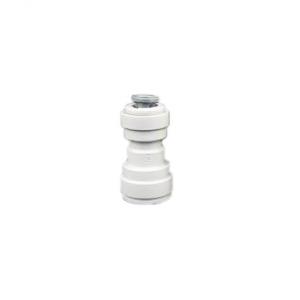 Коннектор прямой 3/8 - 1/4 трубка-трубка