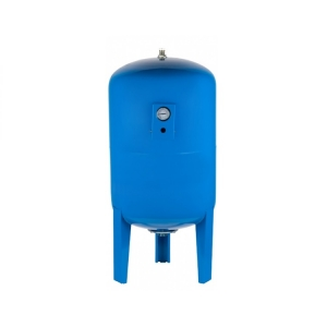 Гидроаккумулятор Unipump 300 л вертикальный с манометром