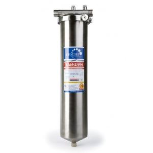 Магистральный фильтр Гейзер Тайфун 20ВВ комплексная очистка 32067