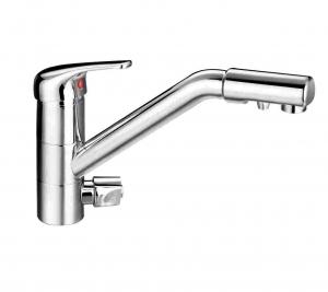 Смеситель Гейзер Cascade для кухни с подключением к фильтру с питьевой водой 25430